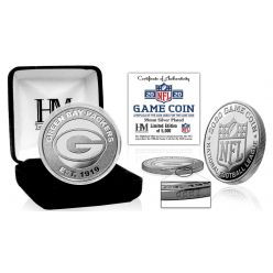 Green Bay Packers 2020 Silver Mint Game (Flip) Coin