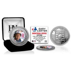 Gary Carter Baseball Hall of Fame Silver Color Coin