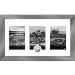 San Francisco Giants Panoramic Art Deco Silver Coin Photo Mint