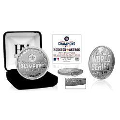 Houston Astros 2021 American League Champions Silver Coin