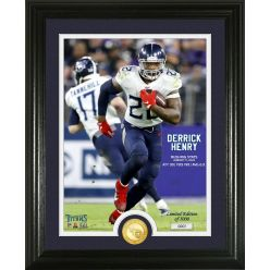 Derrick Henry Tennessee Titans Spectacular Moments Bronze Coin Photo Mint