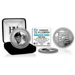 Harmon Killebrew Baseball Hall of Fame Silver Color Coin