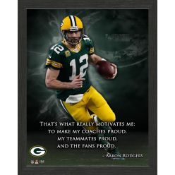 Aaron Rodgers Inspiration Frame