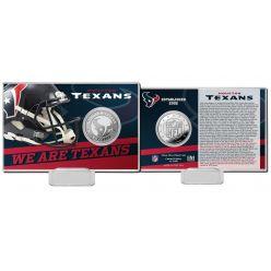 Houston Texans 2020 Team History Coin Card
