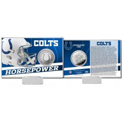 Indianapolis Colts 2020 Team History Coin Card