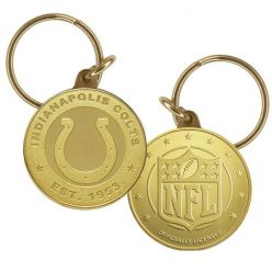 Indianapolis Colts Bronze Keychain