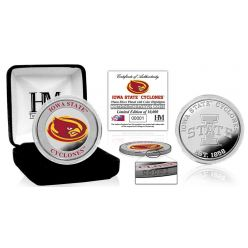 Iowa State University Color Silver Coin