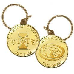 Iowa State University Bronze Keychain