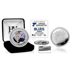 Jordan Binnington Color Silver Coin