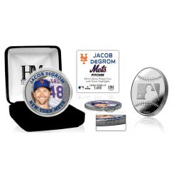 Jacob deGrom Silver Mint Coin