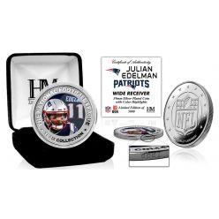 Julian Edelman Silver Color Coin