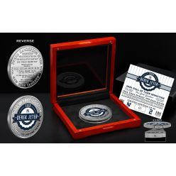 Derek Jeter 2020 Hall of Fame Induction 1 Troy LB .999 Silver Coin