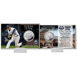 Derek Jeter 2020 HOF Silver Coin Card