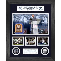 Derek Jeter Induction Day Marquee Silver Coin Photo Mint