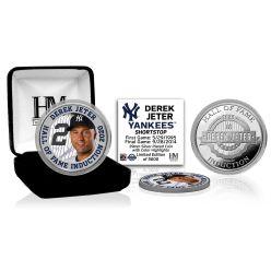Derek Jeter 2020 HOF Color Silver Coin