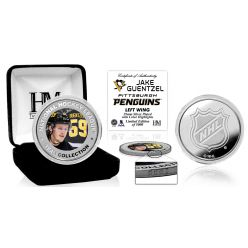 Jake Guentzel Color Silver Coin