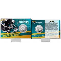 Jacksonville Jaguars 2020 Team History Coin Card