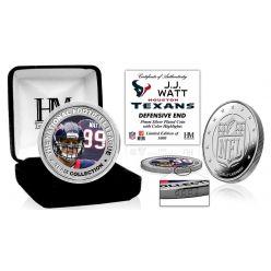 JJ Watt Silver Color Coin