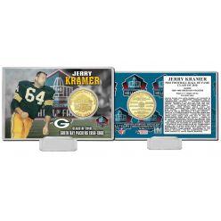 Jerry Kramer 2018 Pro Football HOF Induction Bronze Coin Card