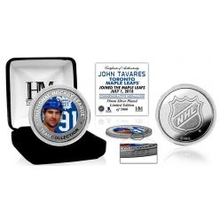 John Tavares Silver Color Coin