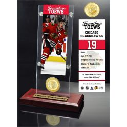 Jonathan Toews Ticket & Bronze Coin Acrylic Desktop