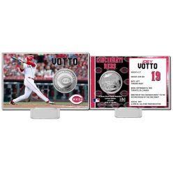 Joey Votto Silver Coin Card