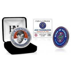 Jack Youngblood Ring of Honor Silver Color Coin