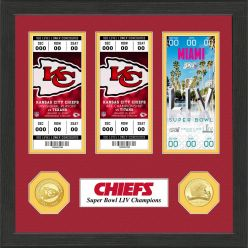 Kansas City Chiefs Road to Super Bowl 54 Ticket Collection