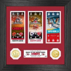 Kansas City Chiefs Road to Super Bowl 55 Bronze Coin Photo Mint