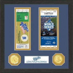Kansas City Royals World Series Ticket Collection