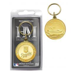 Kansas City Royals Bronze Team Keychain