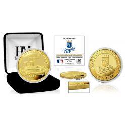 "Kansas City Royals ""Stadium"" Gold Mint Coin"