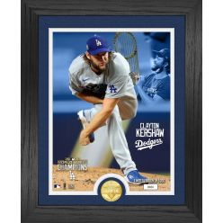 Clayton Kershaw Los Angeles Dodgers 2020 World Series Bronze Coin Photo Mint