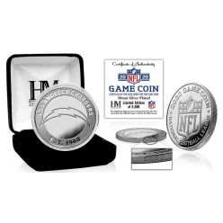 Los Angeles Chargers 2020 Silver Mint Game (Flip) Coin