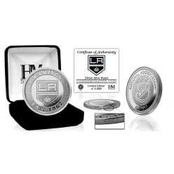 Los Angeles Kings Silver Mint Coin