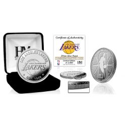 Los Angeles Lakers Silver Mint Coin