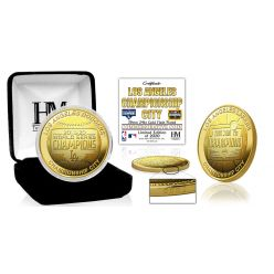 Los Angeles 2020 City of Champions Gold Mint Coin