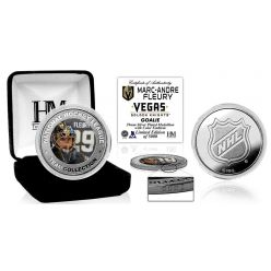 Marc Andre Fleury Silver Color Mint Coin