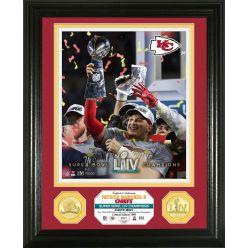 Kansas City Chiefs Super Bowl 54 Champion Trophy Bronze Coin Photo Mint
