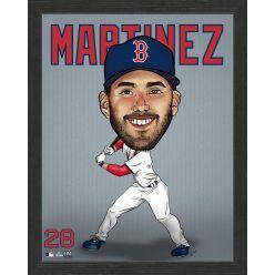 JD Martinez Boston Red Sox Framed Dynamo