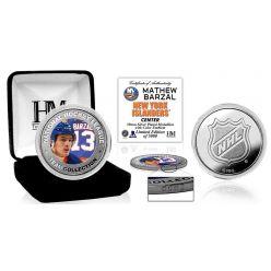 Mathew Barzal Silver Color Mint Coin