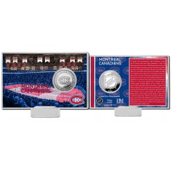 Montreal Canadiens History Silver Coin Card