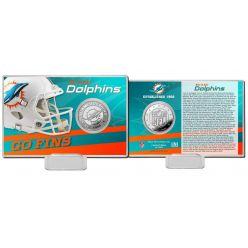 Miami Dolphins 2020 Team History Coin Card