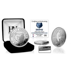 Memphis Grizzlies Silver Mint Coin