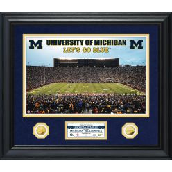 University of Michigan Special Edition Gold Coin Photo Mint