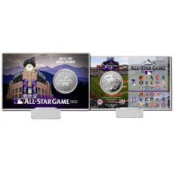 2021 MLB All Star Game Silver Coin Card