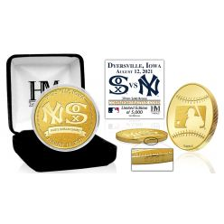 New York Yankees vs Chicago White Sox MLB Field of Dreams 2021 Bronze Mint Coin