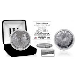 "Moon Landing ""The New Frontier"" Silver Mint Coin"