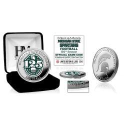 Michigan State University 125th Football Season Silver Game Coin