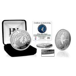 Minnesota Timberwolves Silver Mint Coin